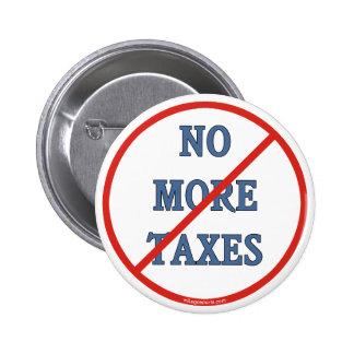 No más de impuestos pins