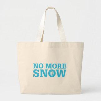 No más de nieve bolsa