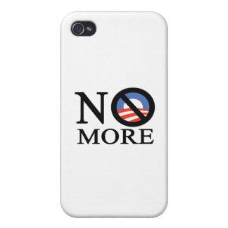 No más de Obama iPhone 4 Cárcasa