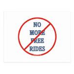 No más de pases gratises postal