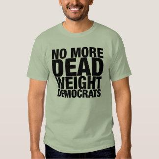 No más de peso muerto camisas