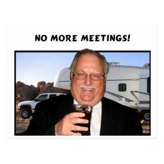 No más de reuniones postal
