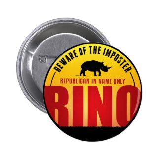 No más de RINO Pin Redondo 5 Cm