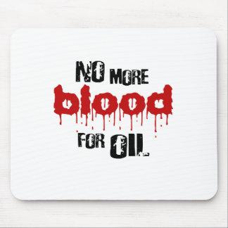 No más de sangre para el aceite tapetes de raton