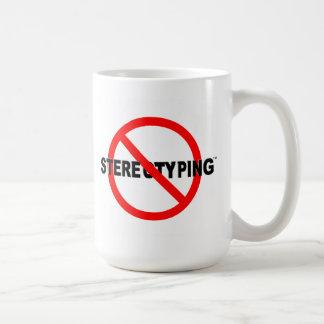 No más de taza de estereotipia