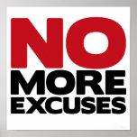 No más excusas poster