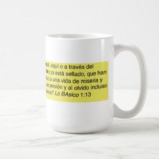 """""""No más generaciones de nuestra juventud, aquí Coffee Mug"""