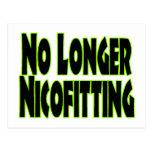 No más Nicofitting Tarjeta Postal