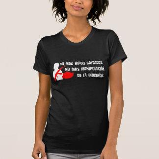 No más niños soldados T-Shirt
