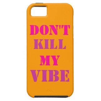 No mate a mi iPhone 5/5S, caso del ambiente del iPhone 5 Case-Mate Protector
