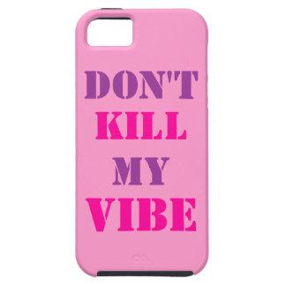 No mate a mi iPhone 5/5S, caso del ambiente del iPhone 5 Case-Mate Cárcasas