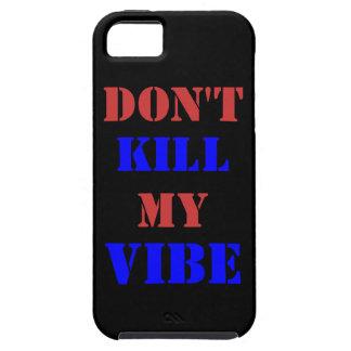 No mate a mi iPhone 5/5S, caso del ambiente del iPhone 5 Carcasa