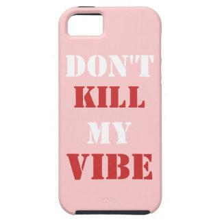 No mate a mi iPhone 5/5S, caso del ambiente del iPhone 5 Case-Mate Coberturas