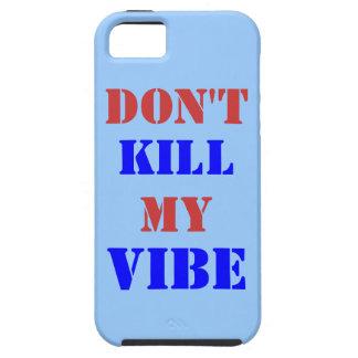 No mate a mi iPhone 5/5S, caso del ambiente del iPhone 5 Funda