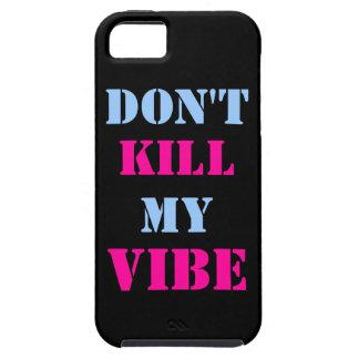 No mate a mi iPhone 5/5S, caso del ambiente del iPhone 5 Carcasas