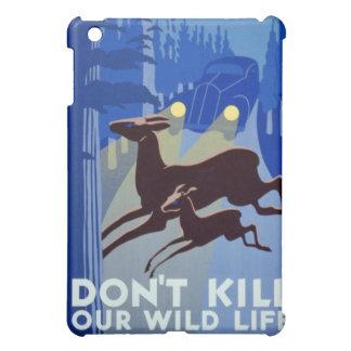 No mate a nuestro vintage salvaje WPA de la vida