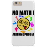 No math! Arithmophobia Barely There iPhone 6 Plus Case