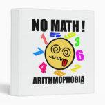 No math ! Arithmophobia Binder