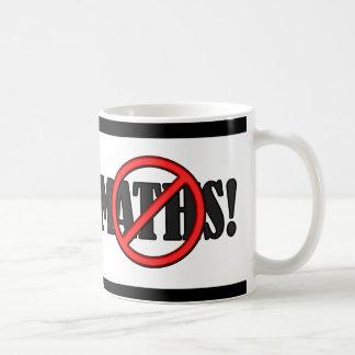 No Maths Zone... (funny) Mugs