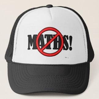 No Maths Zone... (funny) Trucker Hat