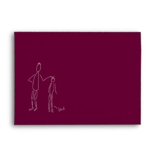 No Matter How Tall, Dad...Father's Day Envelope