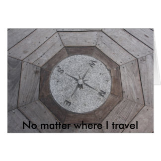 No matter where I travel Card