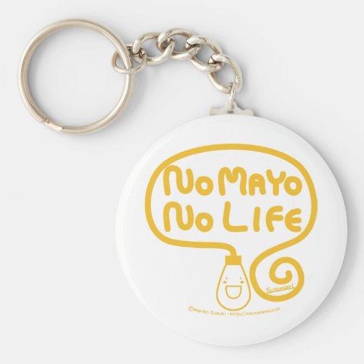 No Mayo No Life Key Chain