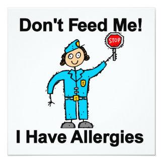 No me alimente que tengo alergias anuncio personalizado