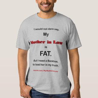 No me atrevería digo que mi suegra es FAT (ligh Remera