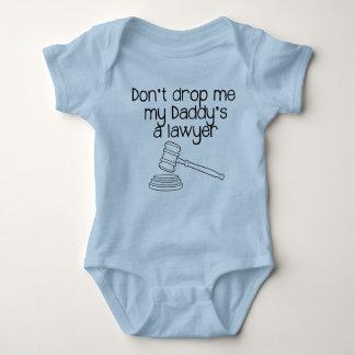 No me caiga, abogado de mi papá body para bebé