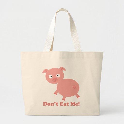 No me coma bolsas de mano