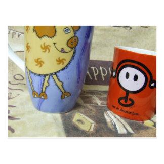 No me coma café guarro tarjetas postales