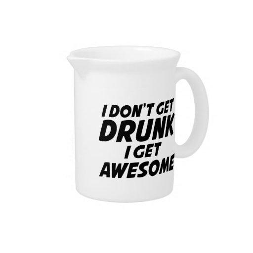 No me consigo bebido consigo impresionante jarras para bebida