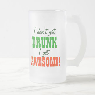¡No me consigo bebido consigo impresionante! Tazas