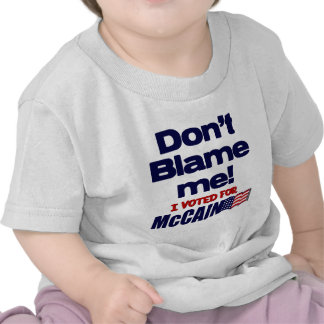 ¡No me culpe Camiseta