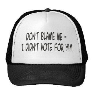 no me culpe gorra