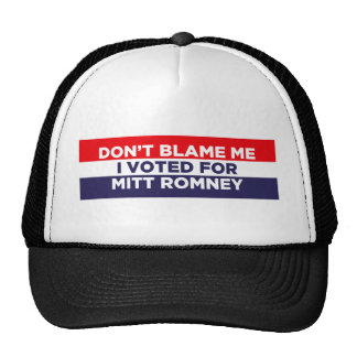 No me culpe gorras