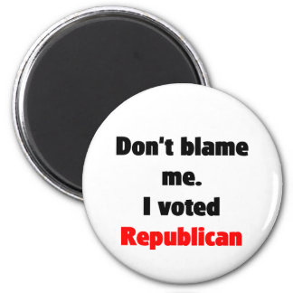 No me culpe imán (del republicano)