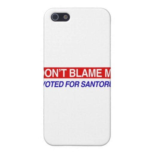 No me culpe iPhone 5 carcasa