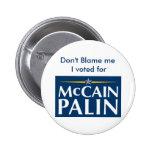 No me culpe… pin