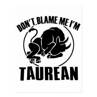 No me culpe que soy Tauren Postal