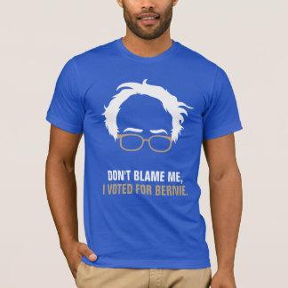 No me culpe, yo votó por Bernie Playera