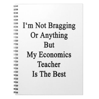 No me estoy jactando o todo menos mi economía Teac Libreta