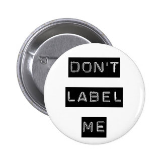 No me etiquete botón