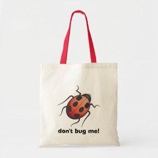 ¡no me fastidie! bolsa lienzo
