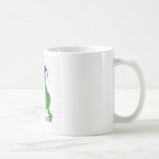 No me fastidie taza básica blanca