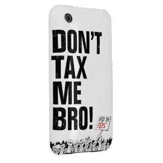 ¡No me grave Bro! Termine el Feds iPhone 3 Case-Mate Cárcasa