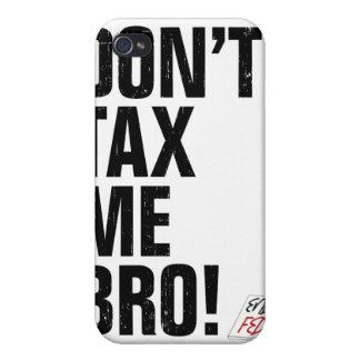 ¡No me grave Bro! Termine el Feds iPhone 4 Funda