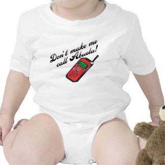 ¡No me haga la llamada Abuela! Traje De Bebé