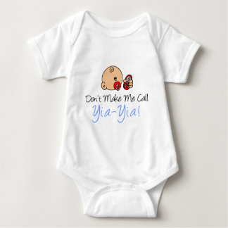No me haga la llamada Yia-Yia Body Para Bebé